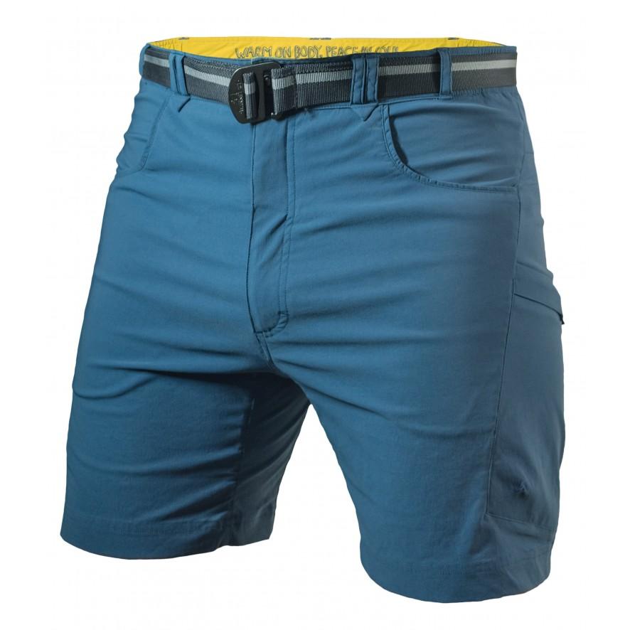 drăguț ieftin preț uimitor imagini detaliate Pantaloni scurti Warmpeace Flint - Albastru - Pantaloni scurti Barbati