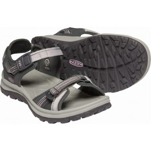 Sandale KEEN Terradora II Open Toe W - Dark grey / Dawn pink