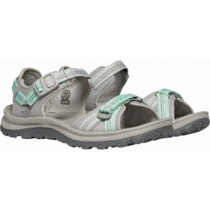 Sandale KEEN Terradora II Open Toe W - Light gray / Ocean wave