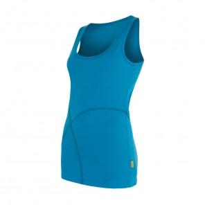 Maiou femei Sensor 100% lana Merinos Active - Blue