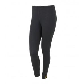 Pantaloni de corp femei Sensor 100% lana Merinos Active - Black