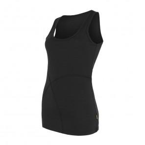 Maiou femei Sensor 100% lana Merinos Active - Black