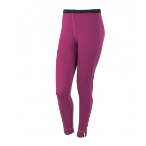 Pantaloni de corp femei Sensor 100% lana Merinos Active - Purple