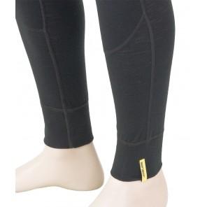 Pantaloni de corp barbati Sensor 100% lana Merinos Active - Black