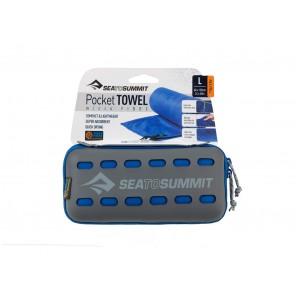 Prosop microfibra Sea to Summit Pocket Towel Large 60 x 120 cm - Orange