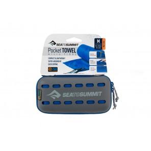 Prosop microfibra Sea to Summit Poket Towel Medium 50 x 100 cm - Grey