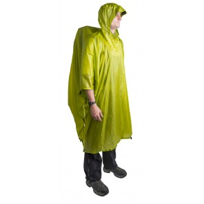 Poncho Sea To Summit Ultra-Sil Nano 15D Tarp - Lime
