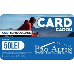 Card Cadou ProAlpin 50 lei