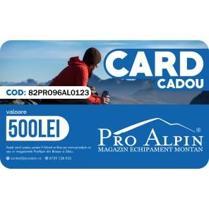 Card Cadou ProAlpin 500 lei