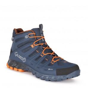 Bocanci de munte AKU SELVATICA MID GTX - Blue / Orange
