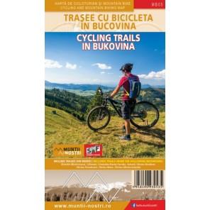 Harta trasee cicloturistice Bucovia Muntii Nostri