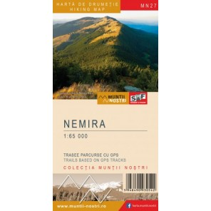 Harta de drumetie Muntii Nemira - Muntii Nostri