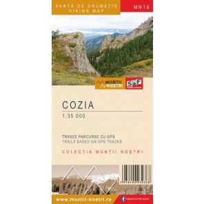Harta drumetie muntii Cozia - Muntii Nostri