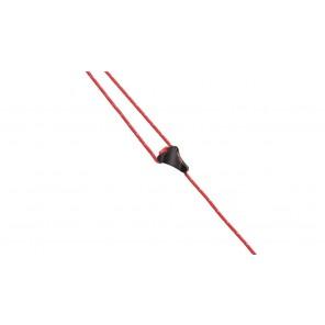 Accesoriu tensionare din plastic 2.5 mm pentru chinga cort Robens
