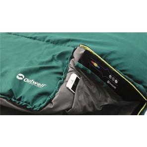 Sac de dormit Outwell Campion - Verde