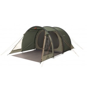 Cort tip tunel Easy Camp Galaxy 400 - 4 persoane - Gold/Red (2020)