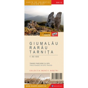 Harta drumetie Muntii Nostri Rarau Giumalau Tarnita