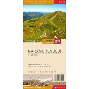 Harta de drumetie Maramuresului - Muntii Nostri