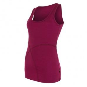 Maiou femei Sensor 100% lana Merinos Active - Purple
