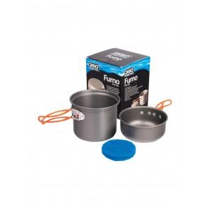 Set vase camping Furno 360 Degrees - 1 persoana
