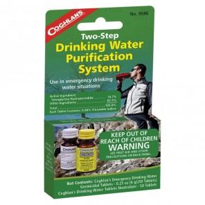 Tratament apa potabila in 2 pasi Coghlans