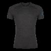 Tricou din lana merino ZAJO Bjorn - Negru