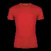 Tricou din lana merino ZAJO Bjorn - Rosu