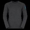 Bluza de corp din lana merino ZAJO Bjorn - Negru de la Zajo
