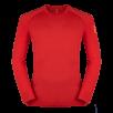 Bluza de corp din lana merino ZAJO Bjorn - Rosu