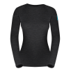 Bluza de corp din lana merino ZAJO Elsa Lady - Negru