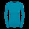 Bluza de corp din lana merino ZAJO Nora Lady - Albastru