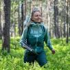 Geaca impermeabila shell femei Bergans Letto V2 3L - Forest Frost / Misty Forest
