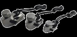 Set 3 bucati kit de reparatie fermoar Munkees FixnZip Nickel