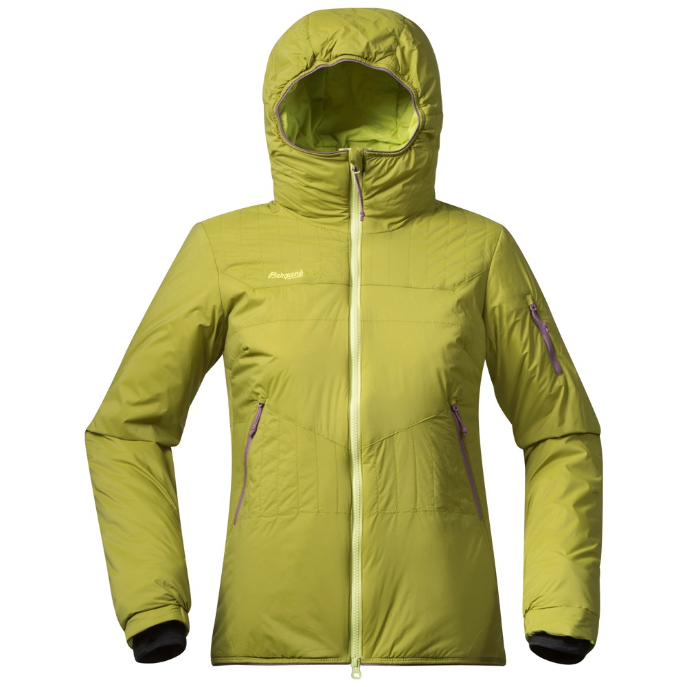 Geaca Bergans Surten Insulated Lady - Lime