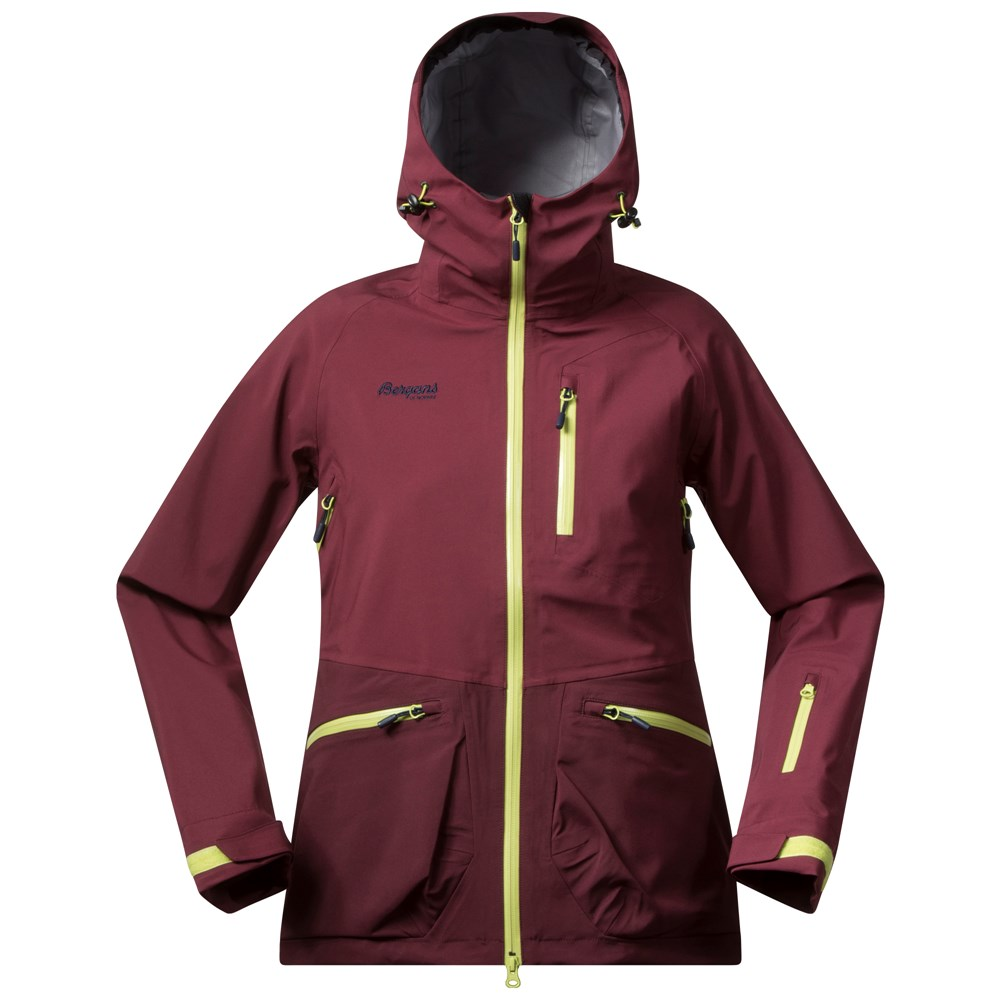 Geaca De Ski Bergans Myrkdalen Insulated Lady - Bordo