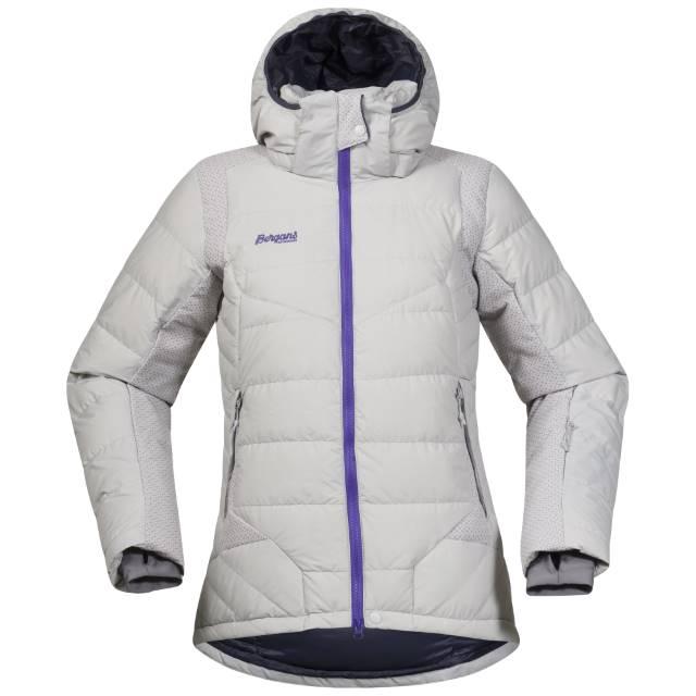 Geaca De Ski Cu Puf Bergans Rjukan Down Lady - Alb