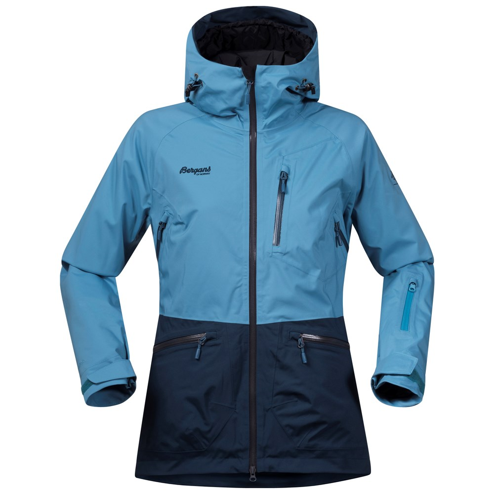 Bergans of Norway Geaca de ski dama Bergans Myrkdalen Insulated Lady - Albastru