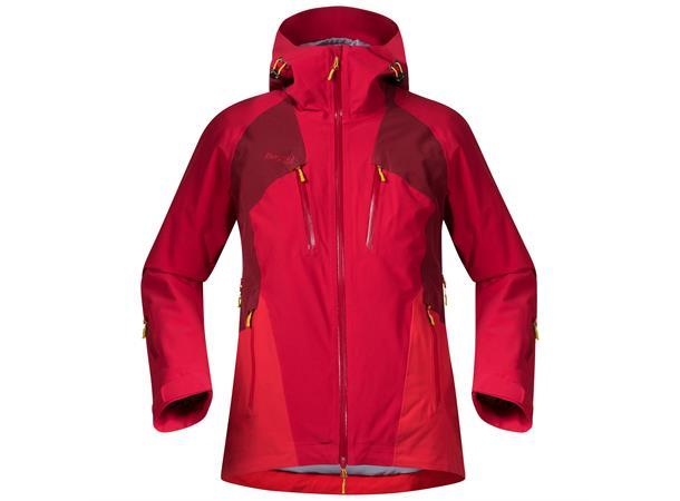 Geaca ski femei Bergans Oppdal Lady - Rosu