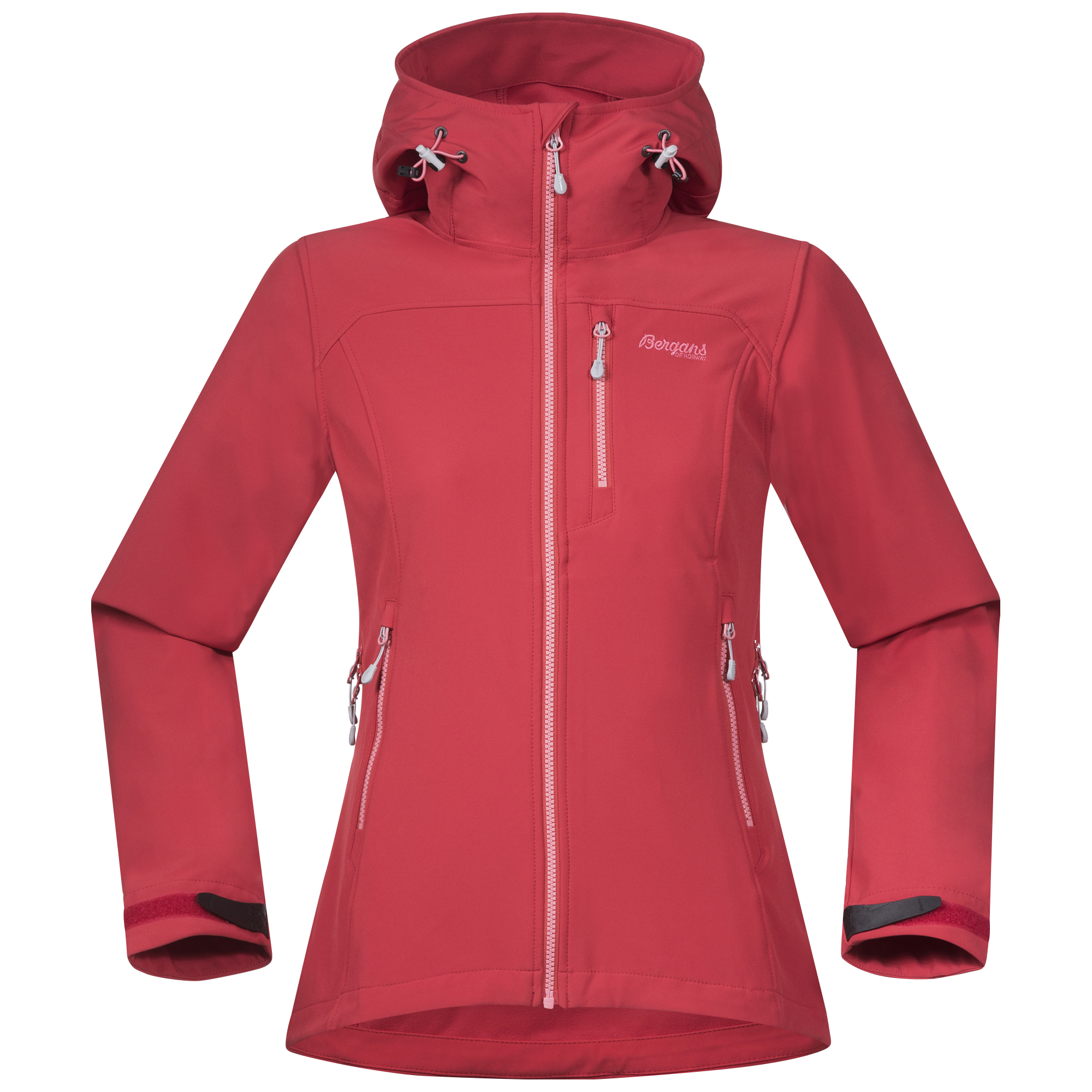Bergans of Norway Geaca softshell Bergans Stegaros Lady - Rosu