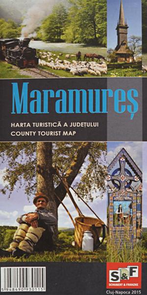 Harta turistica a Judetului Maramures ed. 2