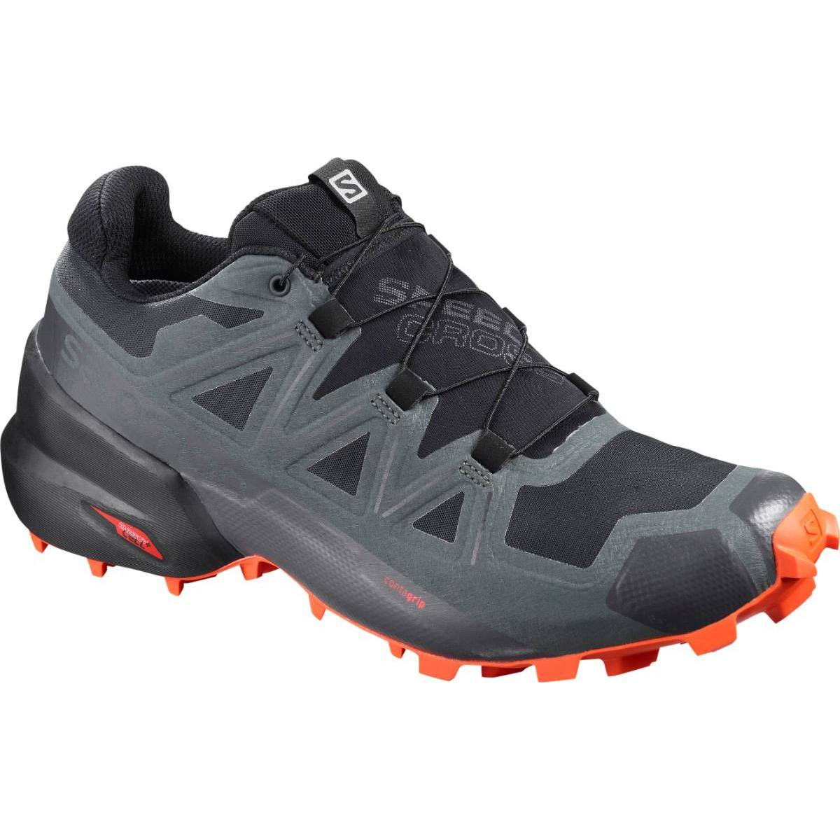 Salomon Pantofi alergare Salomon SPEEDCROSS 5 GTX - Gri