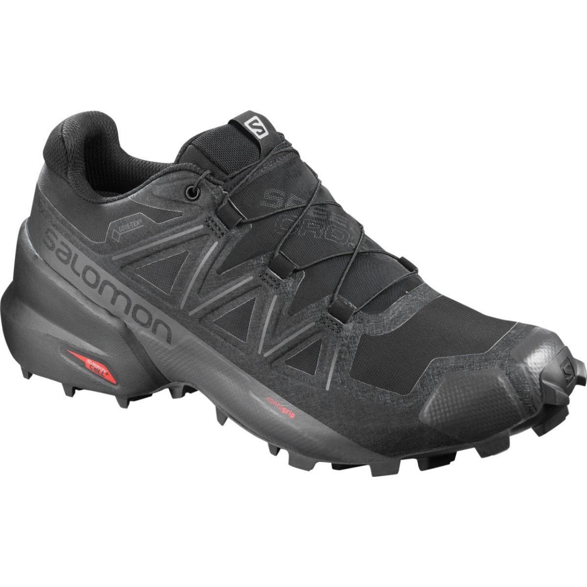 Salomon Pantofi alergare Salomon SPEEDCROSS 5 GTX - Negru