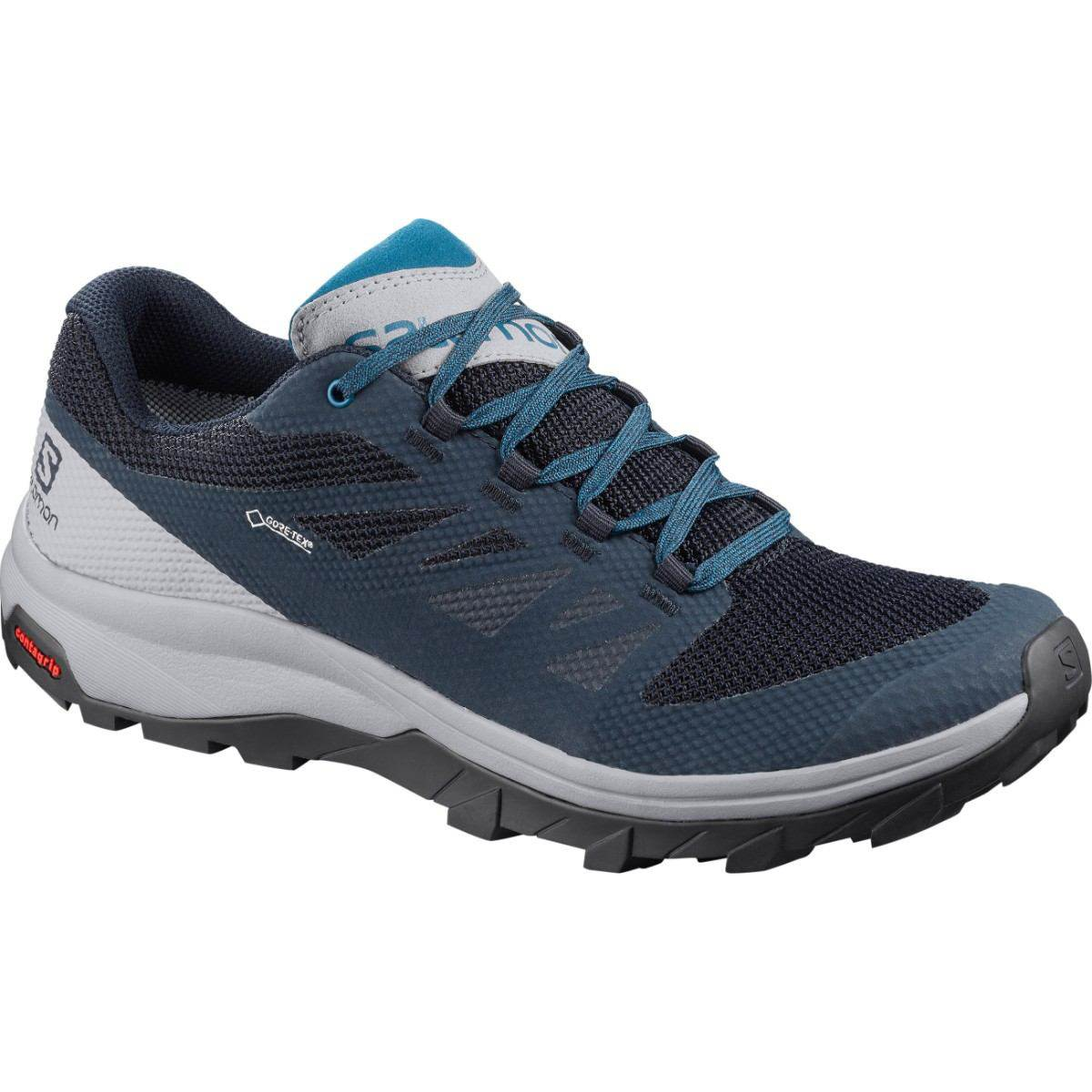 Salomon Ghete drumetie Salomon OUTLINE GTX - Albastru