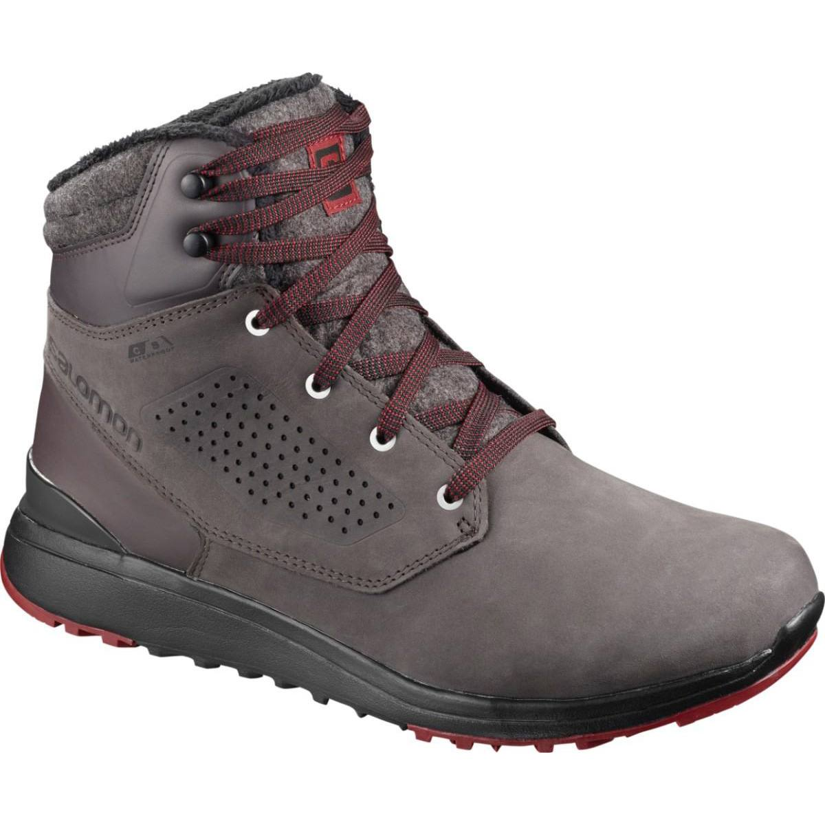 Ghete activitati urbane Salomon UTILITY WINTER CS WP - Gri