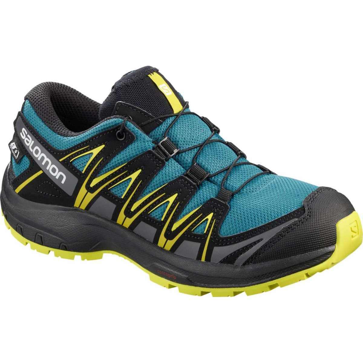 Salomon Pantofi alergare Salomon XA PRO 3D CSWP J - Albastru