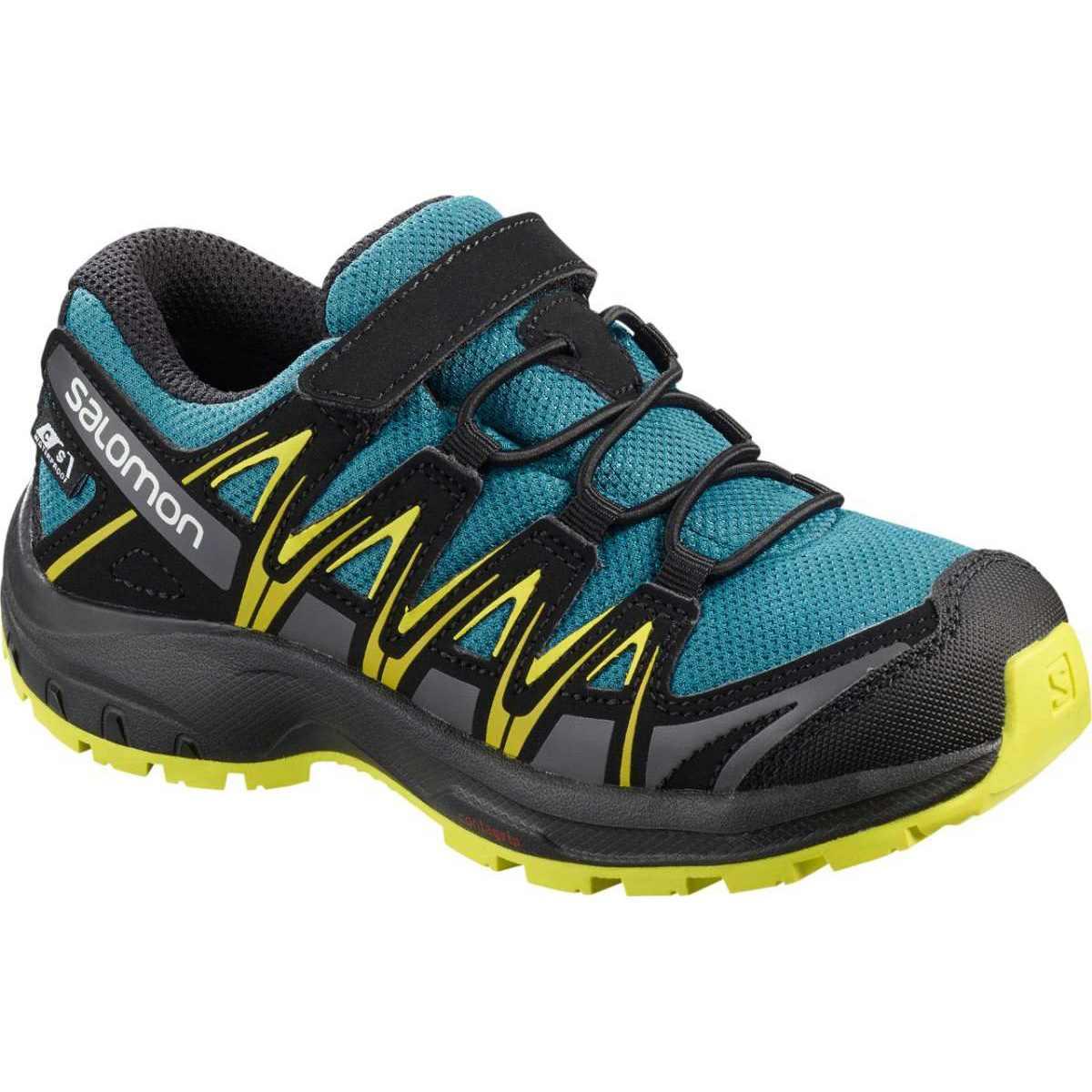 Pantofi alergare Salomon XA PRO 3D CSWP K - Albastru