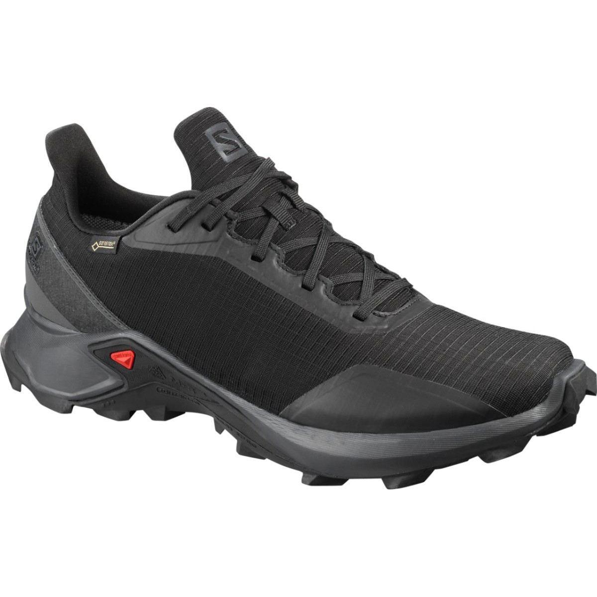 Salomon Pantofi alergare Salomon ALPHACROSS GTX - Negru