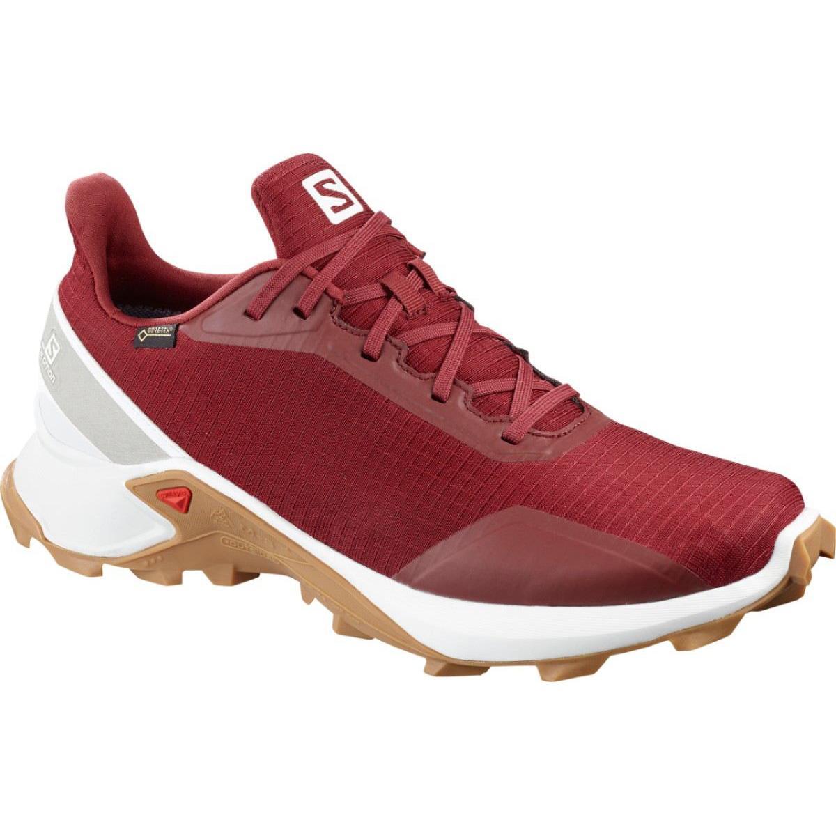 Pantofi alergare Salomon ALPHACROSS GTX – Rosu de la proalpin.ro