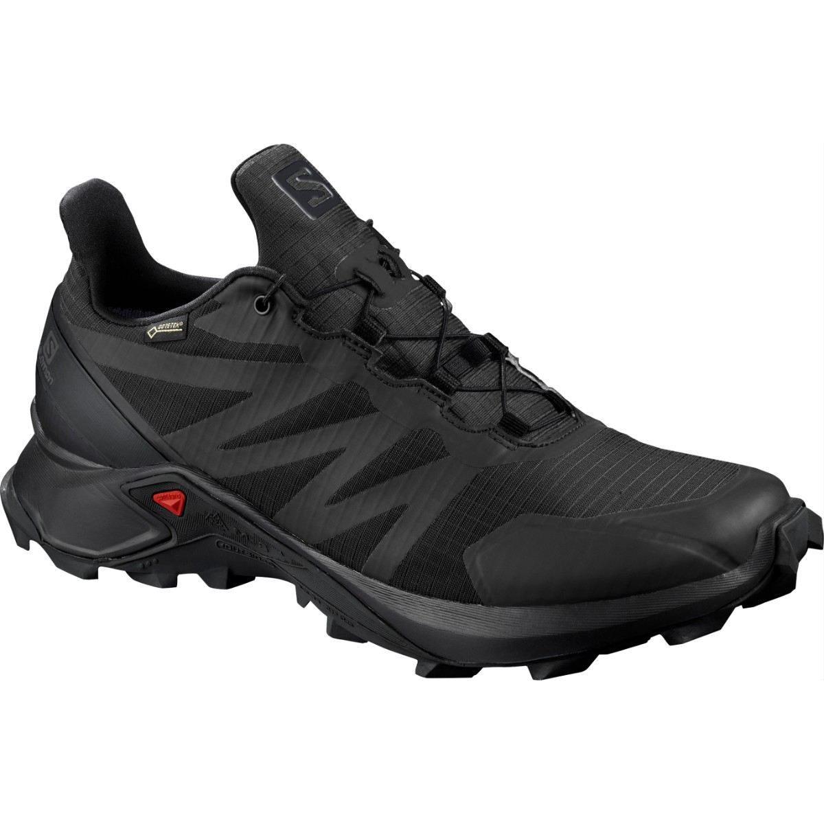 Salomon Pantofi alergare Salomon SUPERCROSS GTX - Negru