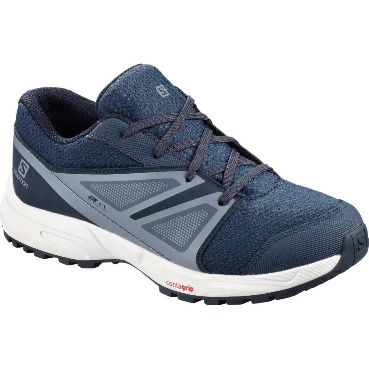 Pantofi alergare Salomon SENSE CSWP J - Albastru